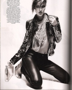 leather by bazaar oct09