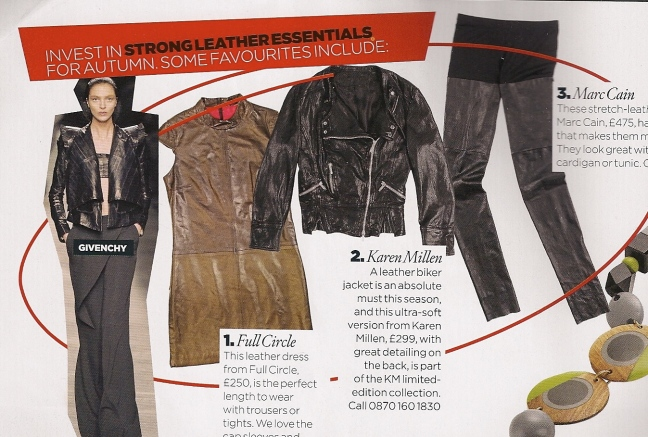 leather piece by vogue nov 09